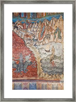 Last Judgement Framed Print by Gabriela Insuratelu