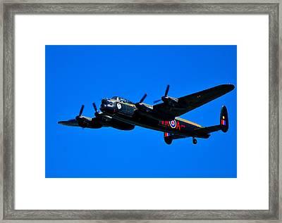 Last Lancaster Framed Print