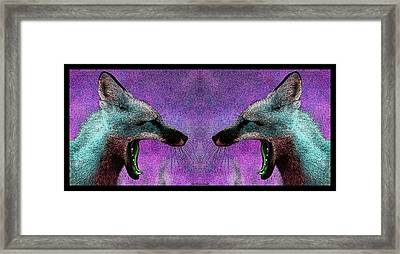 Last Laugh Framed Print by WB Johnston