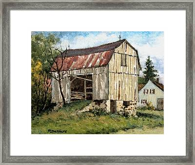 Last Legs Framed Print by Richard De Wolfe