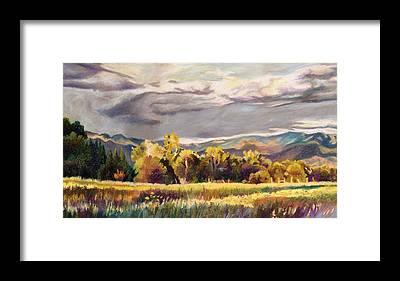 Late Autumn Framed Prints
