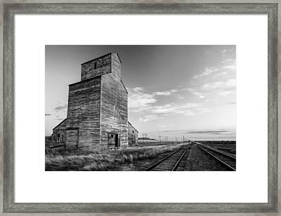 Last Light At Laredo Framed Print by Todd Klassy