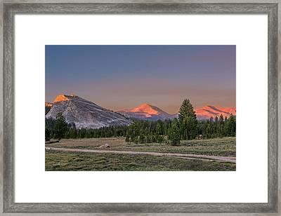 Last Light Framed Print by Bill Roberts