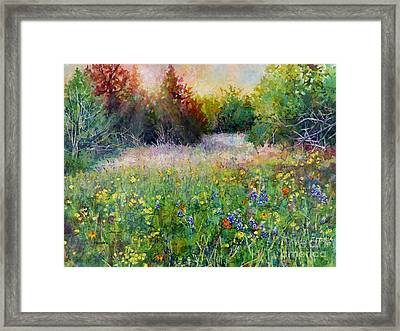 Last Light Framed Print by Hailey E Herrera