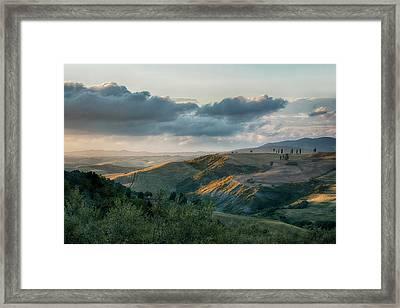 Last Light Framed Print by Joachim G Pinkawa