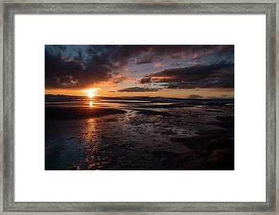 Last Light Framed Print by Justin Johnson