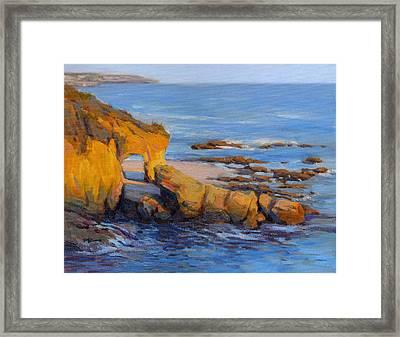 The Golden Hour / Laguna Beach Framed Print