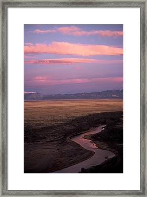 Last Light Framed Print by Lynard Stroud