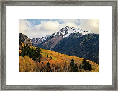 Last Light Of Autumn Framed Print