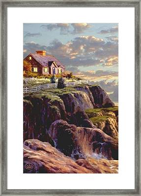 Last Light Segment 1 Framed Print