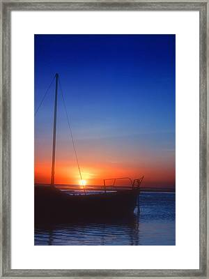 Last Light Framed Print by Stephen Anderson