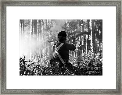Last Man Standing Framed Print by David Lee Thompson