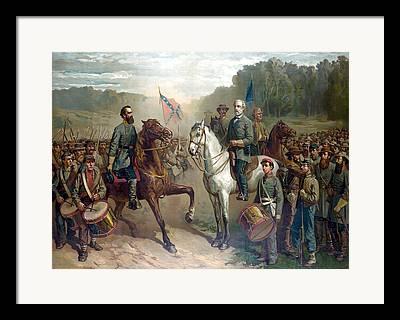 The General Lee Framed Prints
