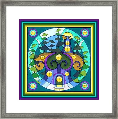 Last Mountain Refuge Framed Print by Phyllis Berka