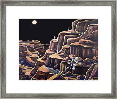 Last Night Out Framed Print by George Chacon