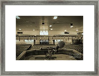 Last Night Framed Print by Sandy Adams