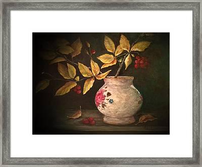 Last Of Autumn Framed Print