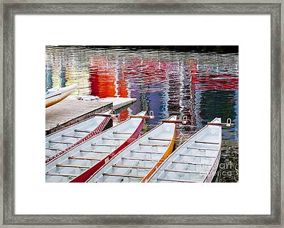 Last Of The Dragon Boats Framed Print