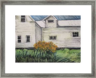 Last Of The Lillies Framed Print by Grace Keown