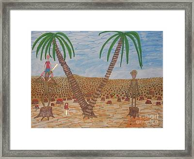 Last Of The Rain Forest Framed Print by Gregory Davis
