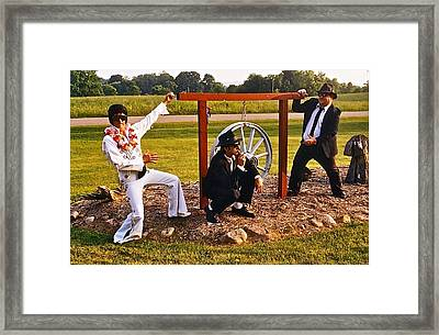 Last Of The Trio Framed Print