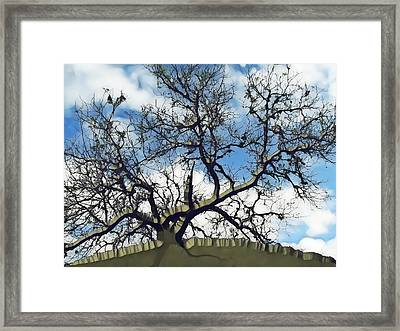 Last One Standing Framed Print by Wendy J St Christopher