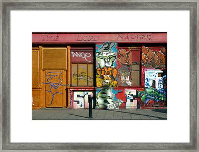 Last Orders Framed Print by Jez C Self