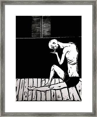 Last Penny Framed Print by Devon Pryce