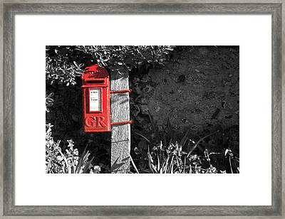 Last Post 4.30 Framed Print