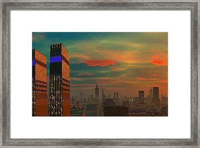 Last Ray's Framed Print by David Jackson