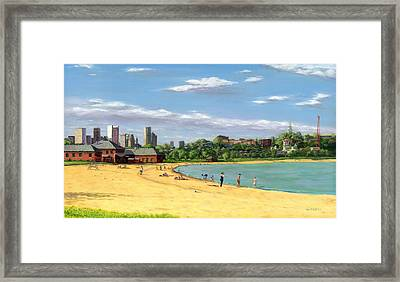 Last Rays Of Summer Framed Print by William Frew