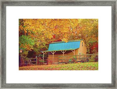 Framed Print featuring the photograph Last Rays Of The Sun by Bellesouth Studio