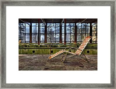 Last Resort Framed Print