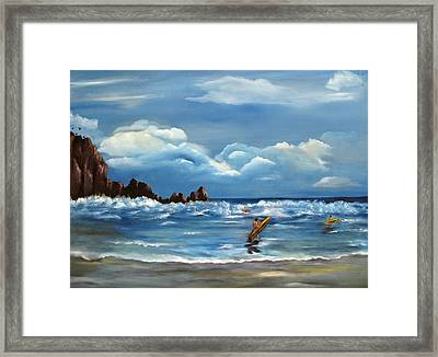 Last Ride Framed Print by Carol Sweetwood