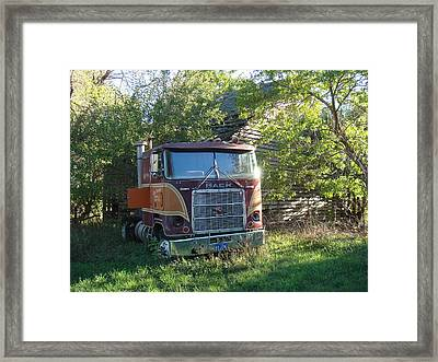 Last Ride Framed Print