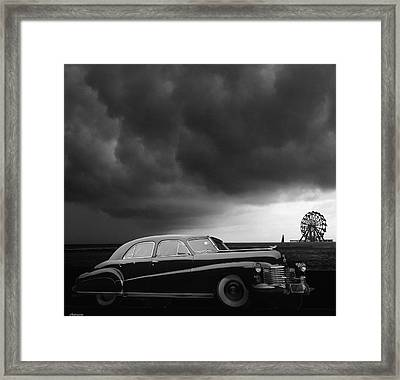 Roadside Attraction Framed Print by Larry Butterworth