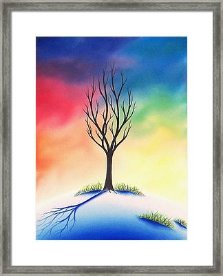 Last Stand Framed Print by Rachel Bingaman