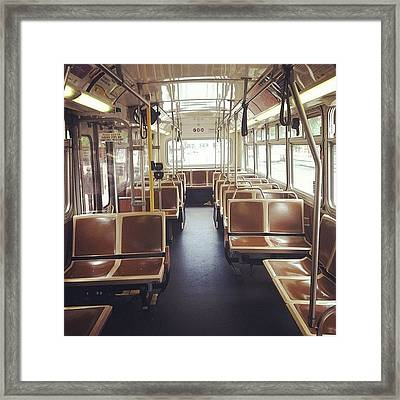 Last Stop Framed Print by Courtney Haile