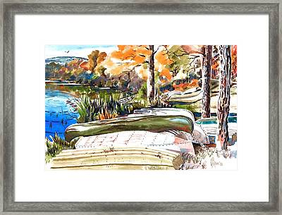 Last Summer In Brigadoon Framed Print by Kip DeVore