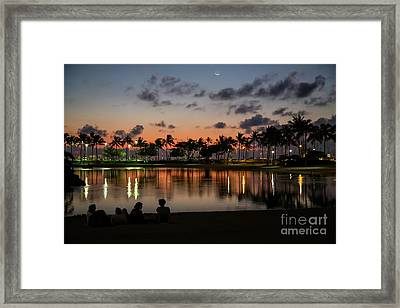 Last Sunset Framed Print by Jon Burch Photography