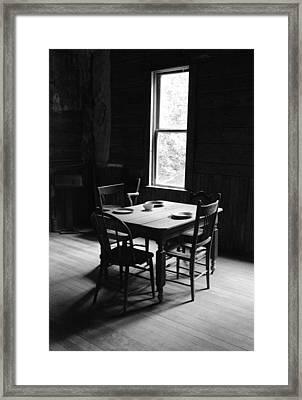 Last Supper At Garnet Framed Print