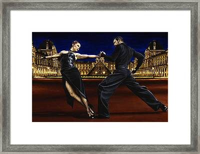 Last Tango In Paris Framed Print by Richard Young