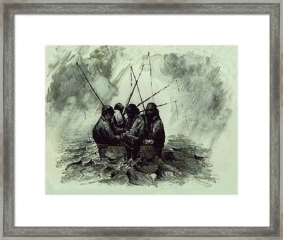 Last Time Out Framed Print