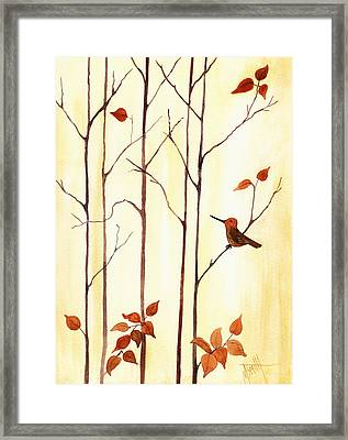 Last To Leave Framed Print by Marilyn Smith