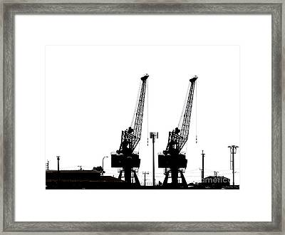 Framed Print featuring the photograph Last To The Ark by Stephen Mitchell