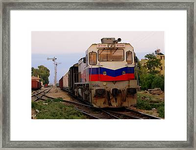 Last Train Home Framed Print by Don Prioleau
