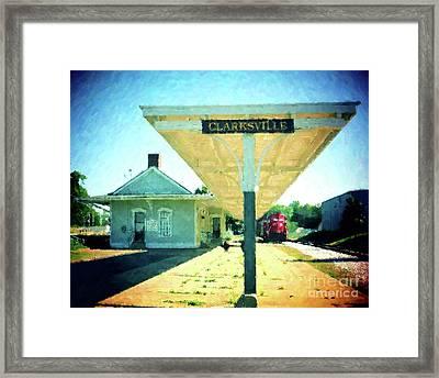 Last Train To Clarksville Framed Print