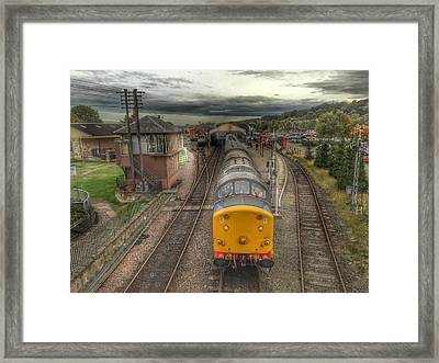 Last Train To Manuel Framed Print by RKAB Works