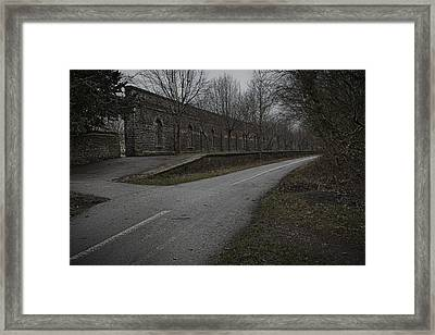 Framed Print featuring the photograph Last Train To Nowhere by Stewart Scott