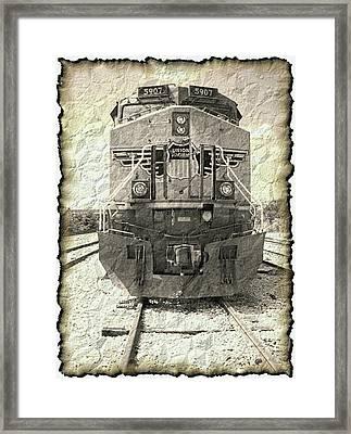 Last Train Framed Print